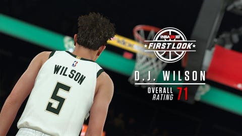D.J. Wilson, Bucks rookie forward