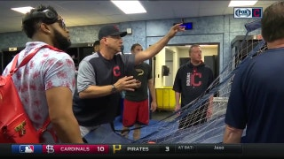 Terry Francona brings the fun and games