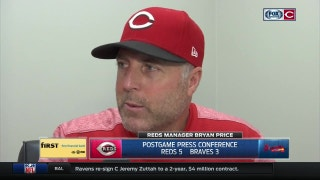 Bryan Price praises team effort after Reds' win over Braves