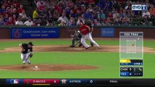WATCH: Rangers score on bizarre sequence vs. White Sox