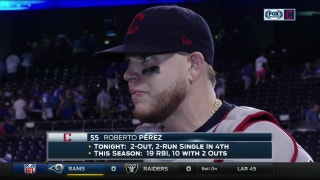 Roberto Perez  on how he approaches clutch situations