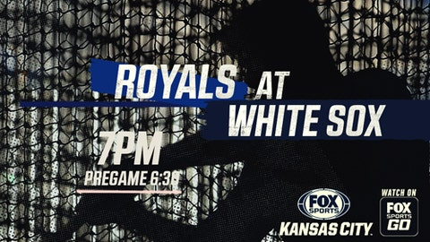 Royals at White Sox