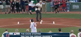 WATCH: This first pitch in Boston missed BADLY | Show Stopper | Rangers Live