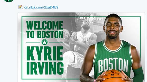 Boston Celtics - @Celtics