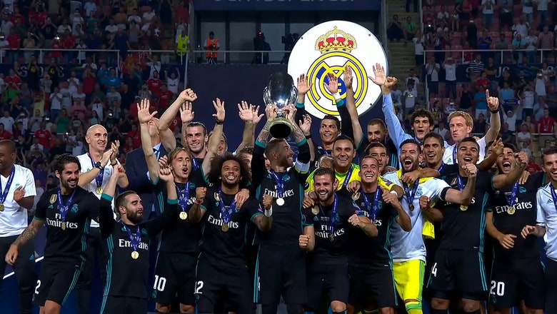 Real Madrid beat Manchester United to win UEFA Super Cup