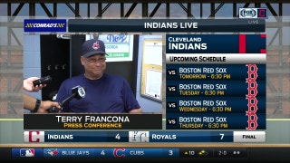 "Tito's excited for ""our fans and clean underwear"" as Tribe returns home"