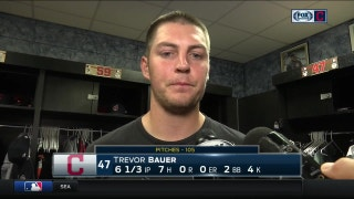 Trevor Bauer after his scoreless outing: 'It makes no sense.'