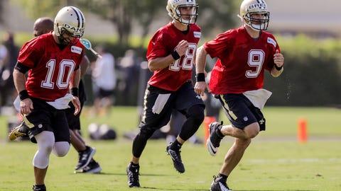 NFL: New Orleans Saints Training Camp