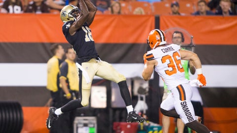 NFL: New Orleans Saints at Cleveland Browns