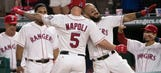 Texas Rangers beat Houston Astros 8-3 for second straight win against AL West rival
