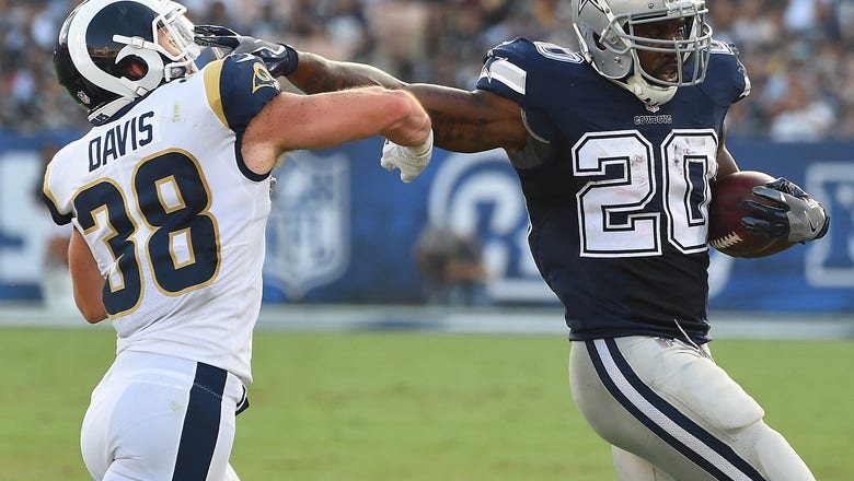 Goff leads early TD drive, LA Rams hold off Cowboys 13-10
