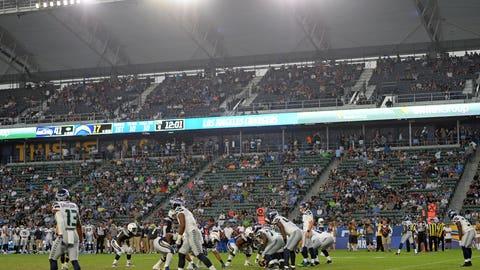 The stadium empties quickly