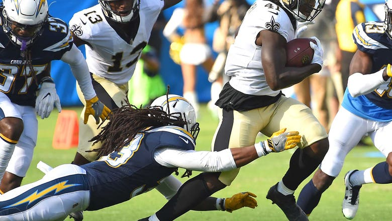 New Orleans rookie Kamara breaks 50-yard touchdown on Saints first play from scrimmage