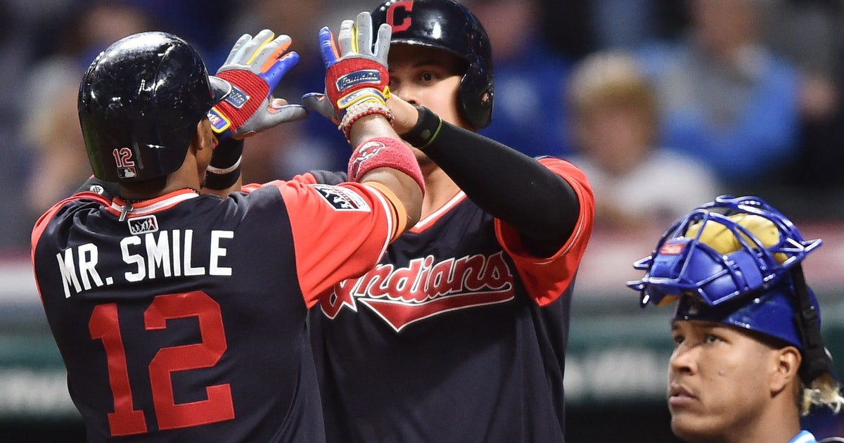 a5df2b840b0 Cleveland Indians get silly with nicknames for Player s Weekend jerseys