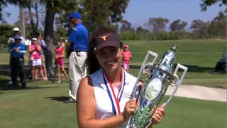Sophia Schubert wins the 117th U.S. Women's Amateur Championship