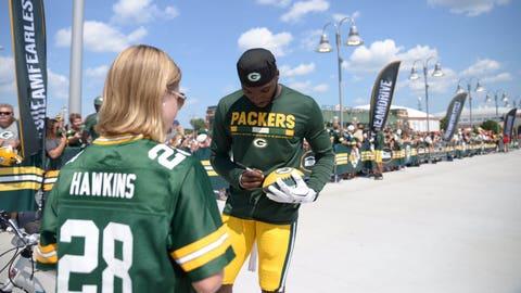 Josh Hawkins, Packers defensive back