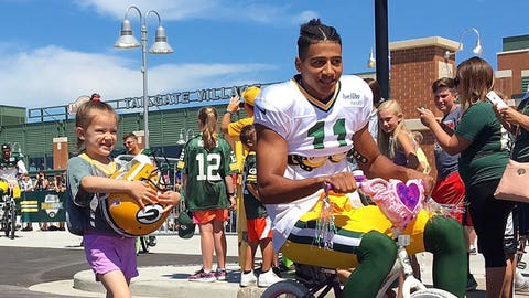 Trevor Davis, Packers wide receiver