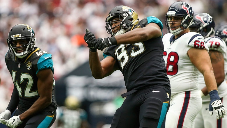 Jaguars' Calais Campbell wants a win -- and Larry Fitzgerald's jersey -- in return to Arizona