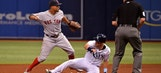 Rays silenced by Rick Porcello in loss to Red Sox