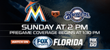 Preview: Marlins try to take 'home' series from Brewers in Milwaukee