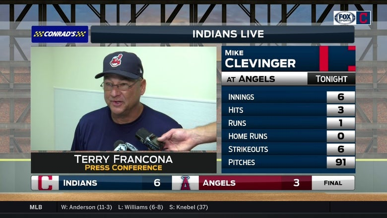 Tito praises Indians all-around after series opening victory in L.A.