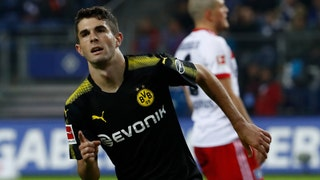Christian Pulisic is flying while Bobby Wood struggles in the Bundesliga