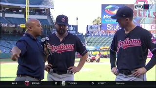Andre gives Tribe bullpen spotlight after terrific staff outing vs. Angels