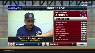 Terry Francona discusses bullpen's big day following 4-1 win