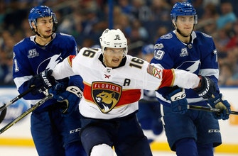 Jonathan Huberdeau, James Reimer pave way for Panthers' preseason win over Lightning