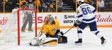 Nikita Kucherov collects 3 points, game-winning goal in OT as Lightning beat Predators