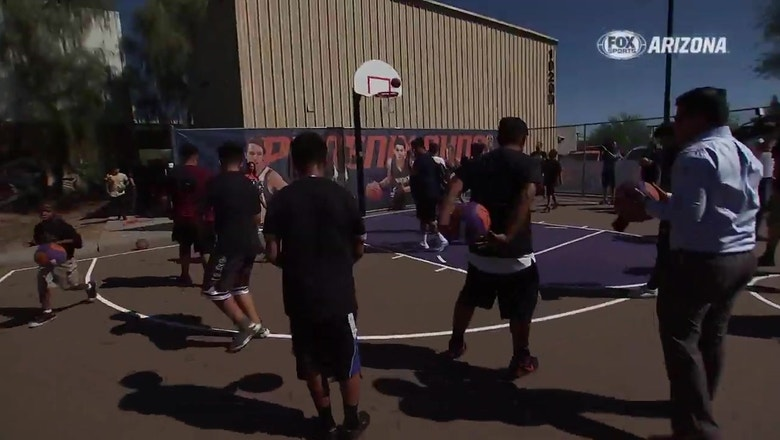 Suns rebuilding 50 courts to mark 50th anniversary season