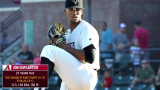 Duplantier named D-backs organizational pitcher of the year