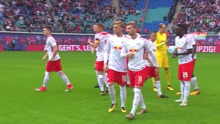 RB Leipzig vs. Eintracht Frankfurt | 2017-18 Bundesliga Highlights