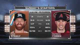 Dan Straily looks to lift Marlins to series win over Diamondbacks