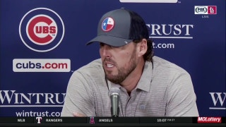 Cubs' Lackey on ump: 'He missed the pitch'