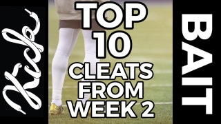 Top 10 cleats from NFL Week 2