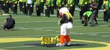 Watch the Oregon Duck stomp all over cancer