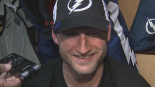 Lightning captain Steven Stamkos on returning to game action
