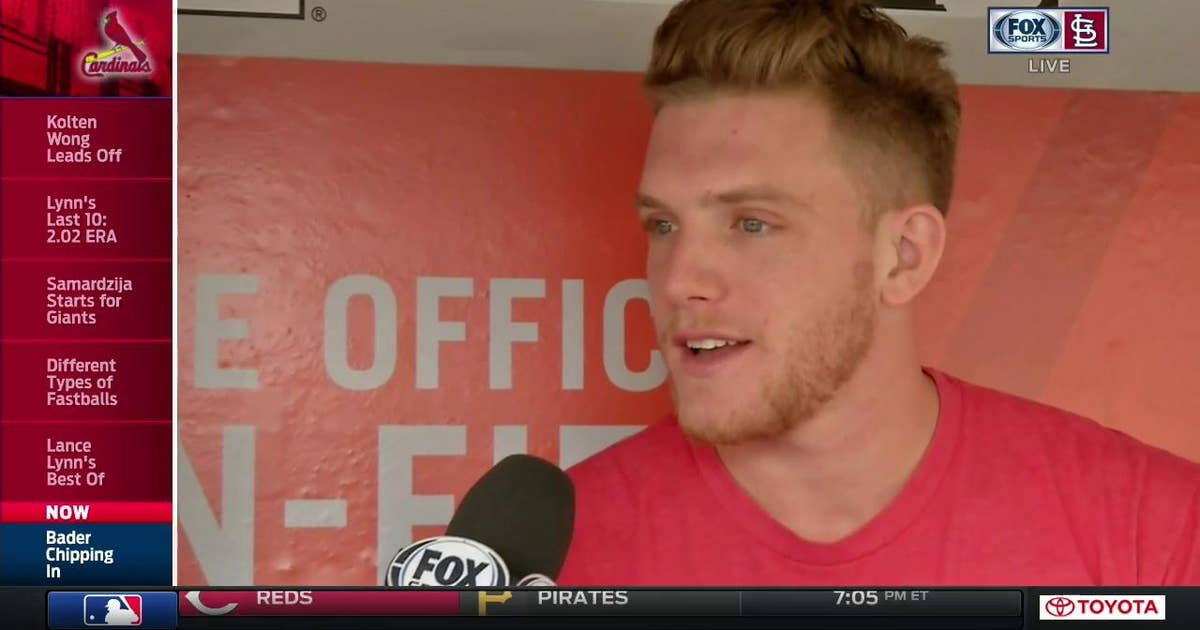 Harrison Bader on the reason for his exceptional ...
