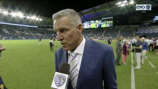 Peter Vermes says Sporting KC 'created some good chances' in win against Revolution