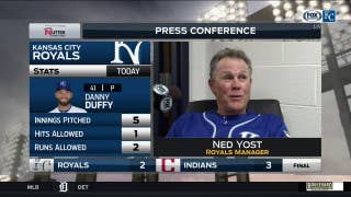 Ned Yost on Danny Duffy: 'He was really, really good'