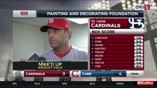Mike Matheny: 'We had our opportunities' in loss to Cubs