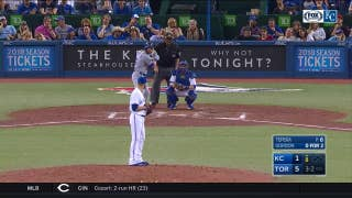WATCH: Alex Gordon hits a historic homer in Royals' loss to Blue Jays