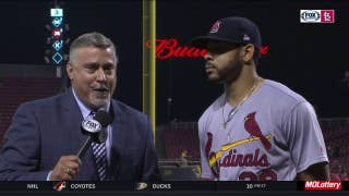 'One game at a time:' Pham and the Cardinals grinding away