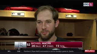 Michael Wacha not upset about being pulled after 73 pitches