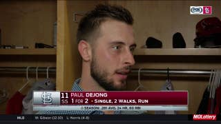 Paul DeJong on error: 'It's just something you learn from'