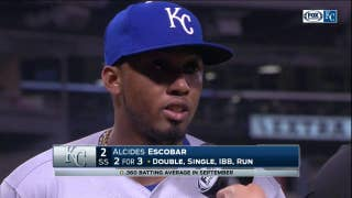 Alcides Escobar on his late-season offensive outburst
