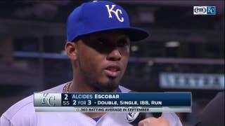 Alcides Escobar on his late-season offensive outburst