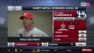 Matheny says Cardinals' bench players took advantage of opportunities