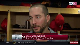 Adam Wainwright: 'It's good to get back out there'